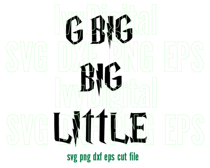 Bundle of 3 Big Little SVG Shirt Sorority Big Little Rock and Roll tee svg