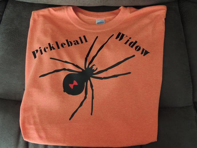 Pickleball Widow Tshirt