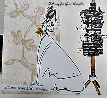 Collect Beautiful Moments Handmade Greeting Card. Ready to Ship.