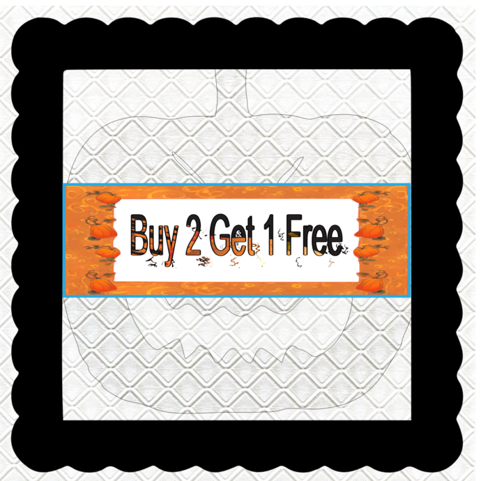 Buy 2 Get 1 Free Banner B-Digital Kit-Jewelry Tag-Clipart-Gift
