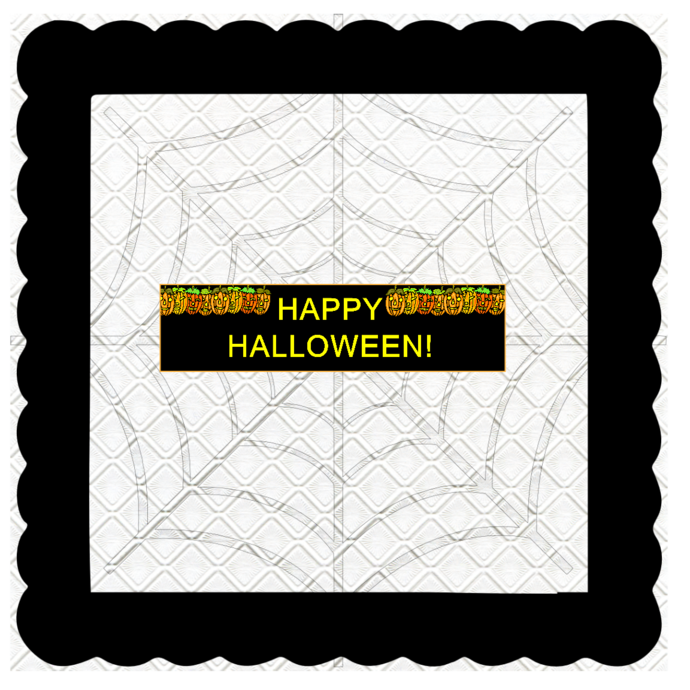 Halloween Banner B-Digital Kit-Jewelry Tag-Clipart-Gift Tag-Holiday-Digital