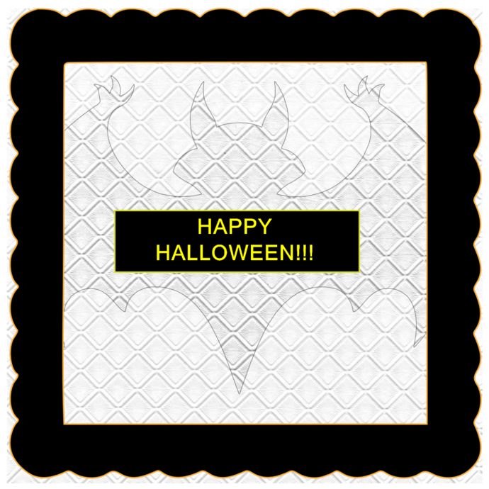 Halloween Banner E-Digital Kit-Jewelry Tag-Clipart-Gift Tag-Holiday-Digital