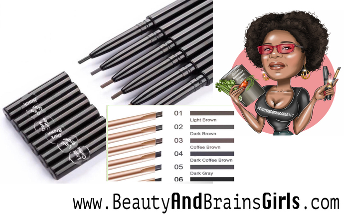 SMALL BUSINESS STARTER- 200 PCS TWO Styles- Wholesale Eyebrow Pencils -CUSTOM