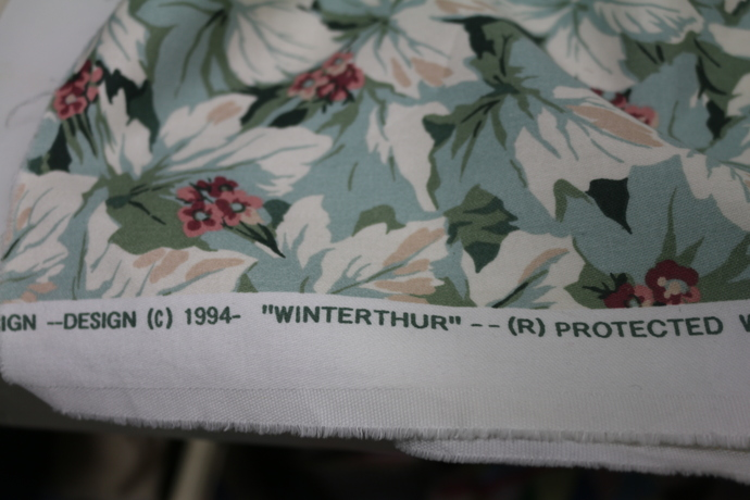 Vintage 1994 NOS WInterthur Fabric Gorgeous pattern and stain repellent 6+ yds