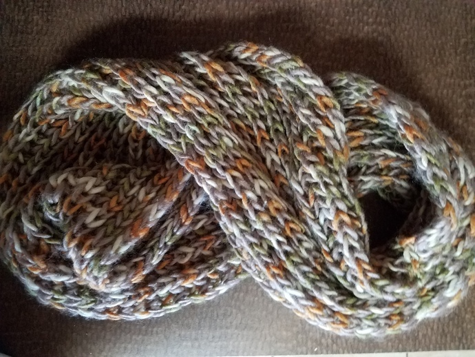 Knitted Fall scarf