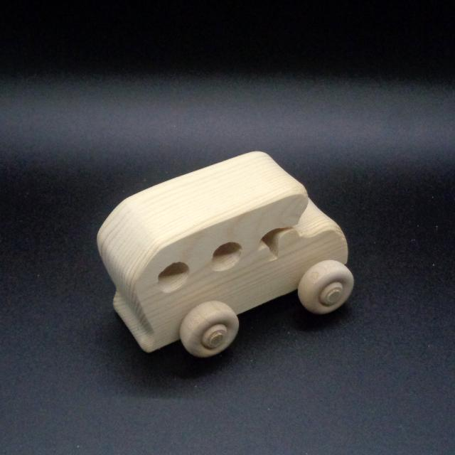 Handcrafted Wood Toy Cars 304DH-U  Unfinished or Finished