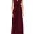 Wine Infinity Dress Burgundy Bridesmaid Gown Plus Size Formal Dress Multiway