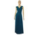 Infinity Dress Teal Bridesmaid Gown Plus Size Prom Dress Multiway Evening Gown