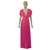 Infinity Dress Hot Pink Bridesmaid Gown Plus Size Prom Dress Baby Shower