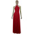 Red Infinity Dress Bridesmaid Gown Plus Size Evening Dress Formal Maternity