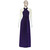 Deep Purple Infinity Dress Bridesmaid Gown Plus Size Prom Dress Multiway Evening
