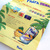 90s Fanta Fruity Pineapple Soda Double Sided Paper Store Advertising Folded