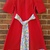 Swirl, red dress size 8