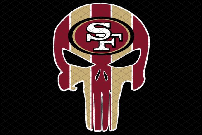 San Francisco 49ers,NFL svg, Football svg file, Football logo,NFL fabric, NFL