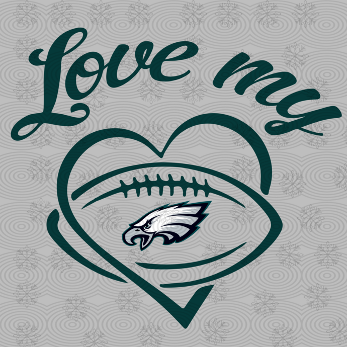 Love my Philadelphia Eagles,Philadelphia Eagles svg, football svg, Philadelphia