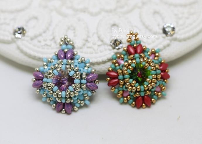 Beading Tutorial - Serafina earrings and bracelet