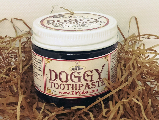 Remineralizing Doggy Toothpaste, Hemp Seed, Diatomaceous Earth, Neem Oil, Fennel