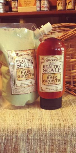 Alopecia Hair Growth Lotion | REFILL BAG | Healthy Scalp & Happy Hair Zinc