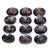 Neutral Smoky Quartz Faceted Checkerboard Oval 18 x 13 mm Flawless Semi Precious