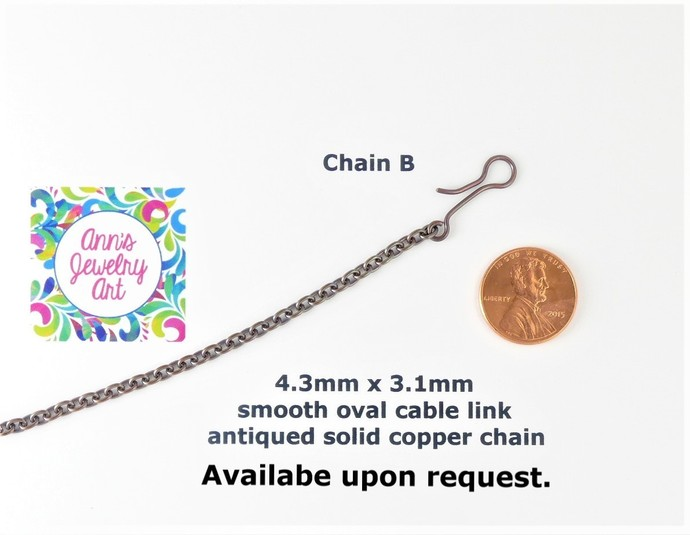 Tiger Eye Jasper Copper Pendant; Wire Wrapped Pendant includes chain (P140)