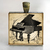 Music Lovers Pendant, Piano