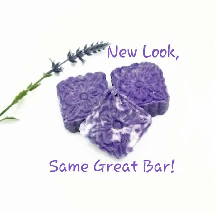 Lavender and Clary Sage Head 2 Toe Bar | All Natural Shampoo Body Wash Face