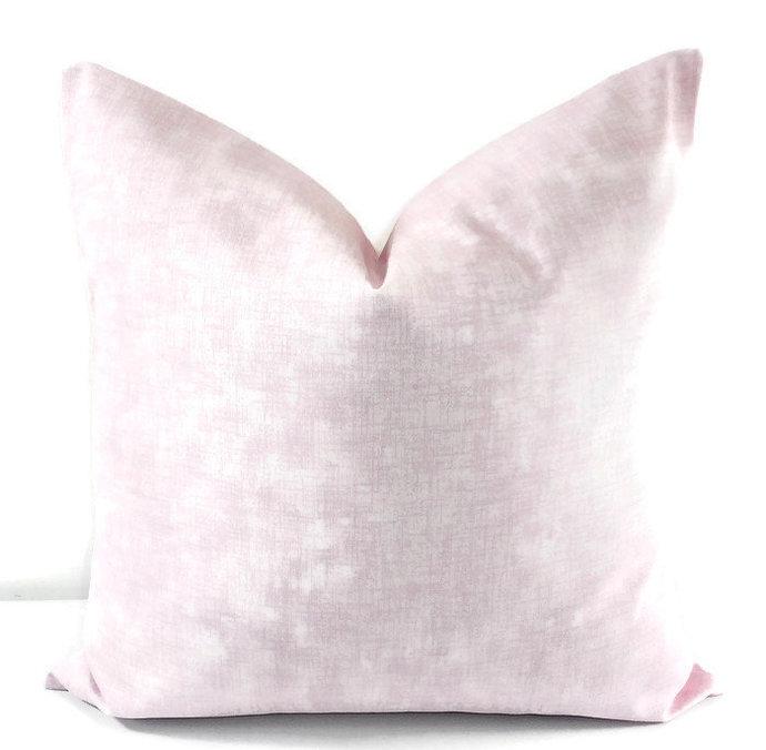 Bella Pink Pillow cover. Jackson Print pillow cover. Pillow cover. Pink. Pink