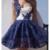 Royal Blue A-line Short Prom Dress 2017 Juniors Homecoming Dress,386