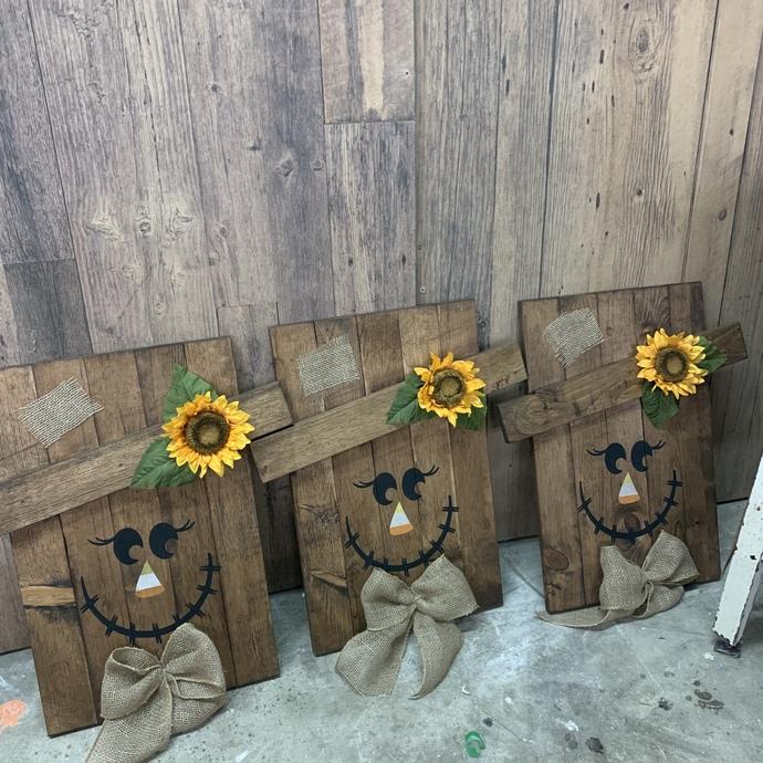 DIY WORKSHOP- Scarecrow Wednesday October 16th 6-9pm