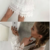 Sheath Crew Long Sleeves Short White Lace Homecoming Dress,403