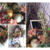 Floral Wreath Wispy Tear Drop Corner Bistro Gourmet Style Wall Decor-Silk