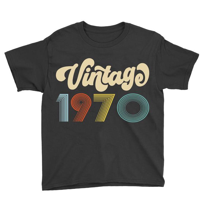 Vintage 1970 all original parts, retro vintage svg, born in ...,  years old svg,