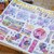 London Gifties x Petra original design washi tape - Peonies & Birdies - 5cm wide