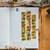 London Gifties x Petra original design foil washi tape - Gold Foil Birdies -