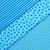Baby Safe 6 Fat Quarter Fabric Bundle - blue lamb sheep - 100% cotton - quilt