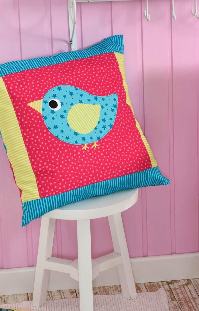 Organic Baby Safe 6 Fat Quarter Fabric Bundle - 100% organic cotton - bright