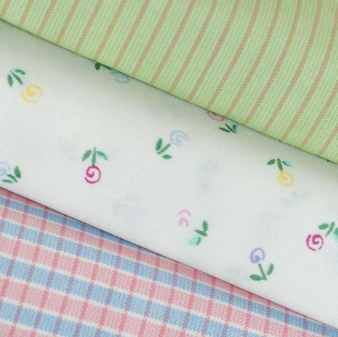 Organic Baby Safe craft fabric - half meter - 100% Cotton - floral multi colour