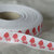 Printed Cotton Ribbon with cute red duck print - 1 meter