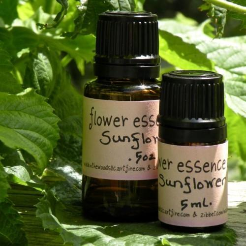 Handmade Flower Essence of Sunflower - 5 ml.