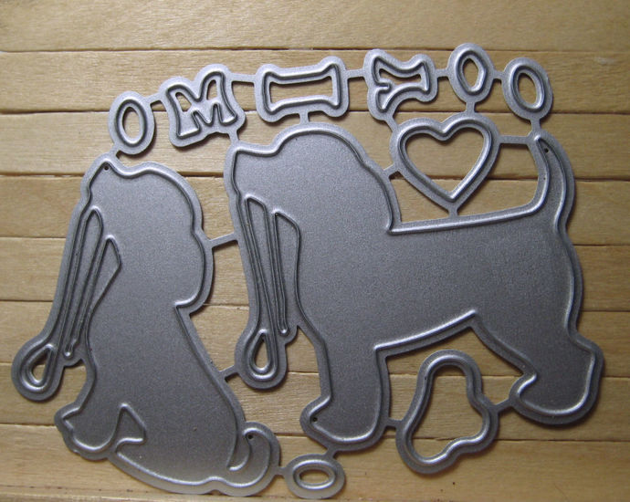 Love My Dog Cutting Die Set