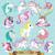 Unicorn SVG Unicorn clipart logo Shirt Invitation Unicorn Birthday Silhouette