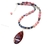 Royal Plume Jasper, rhodonite and sodalite necklace.  One of a kind statement