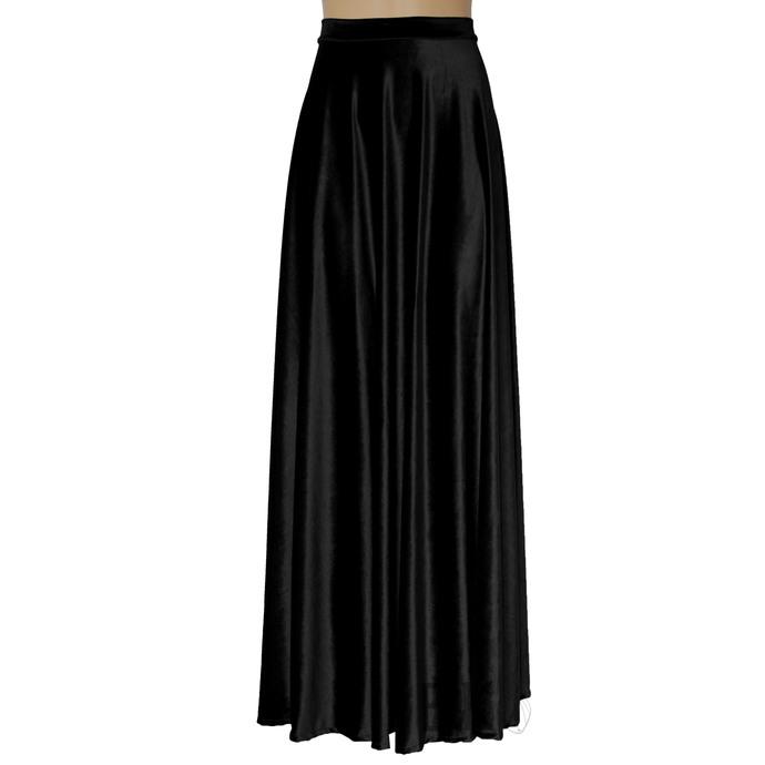 Black Velvet Skirt Long  Formal Skirt Plus Size Evening Skirt Maxi Bridesmaids