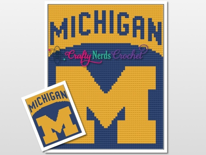 University of Michigan State Pattern Graph With C2C Written