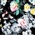 Yardage Cotton Quilt Fabric Romance MASTER FLORAL Black Multi
