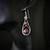 Lepidolite Sterling Silver Dangle Earrings (E115)