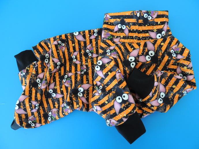 MEDIUM Batty Stripes Soft Cotton Knit PJs