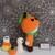 Felton in Pumpkin Costume- Crochet Amigurumi Pattern- PDF