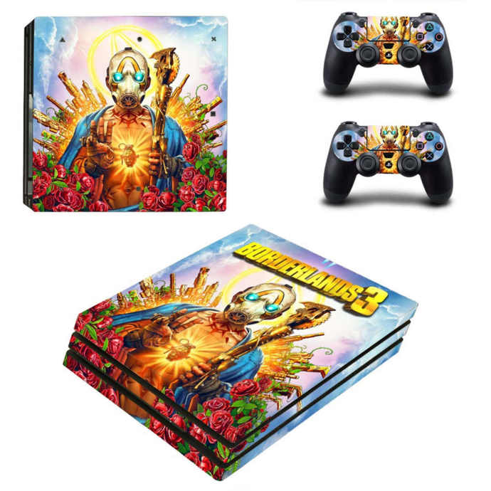 Borderlands 3 PS4 pro Skin for Playstation pro Console & Controllers
