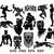 Marvel Black Panther SVG Black Panther Helmet Mask Sign clipart Silhouette